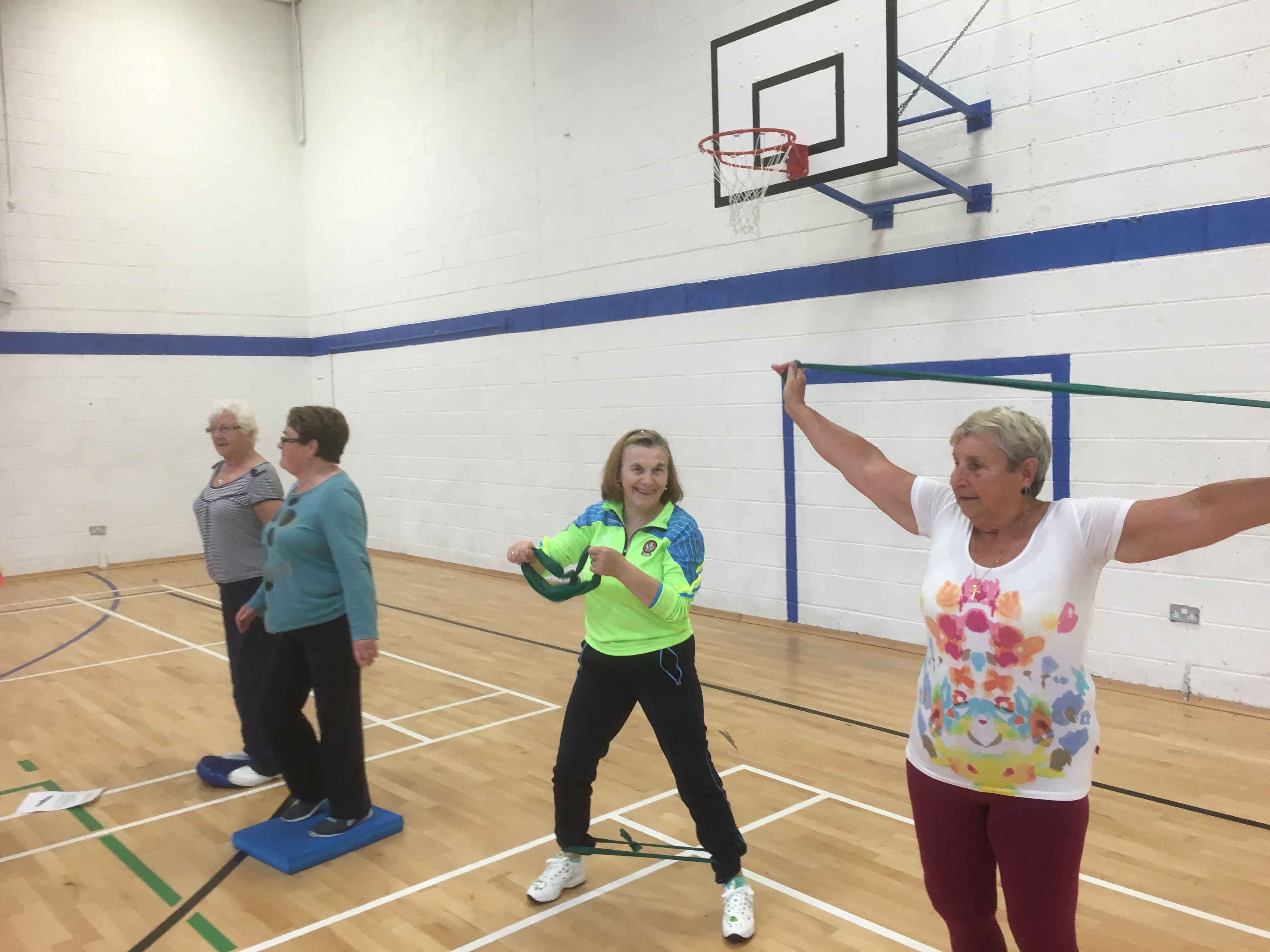 Over 50's Circuits | Cill Barra | Waterford Sports Partnership, Ireland