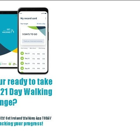 NEW Walking APP!