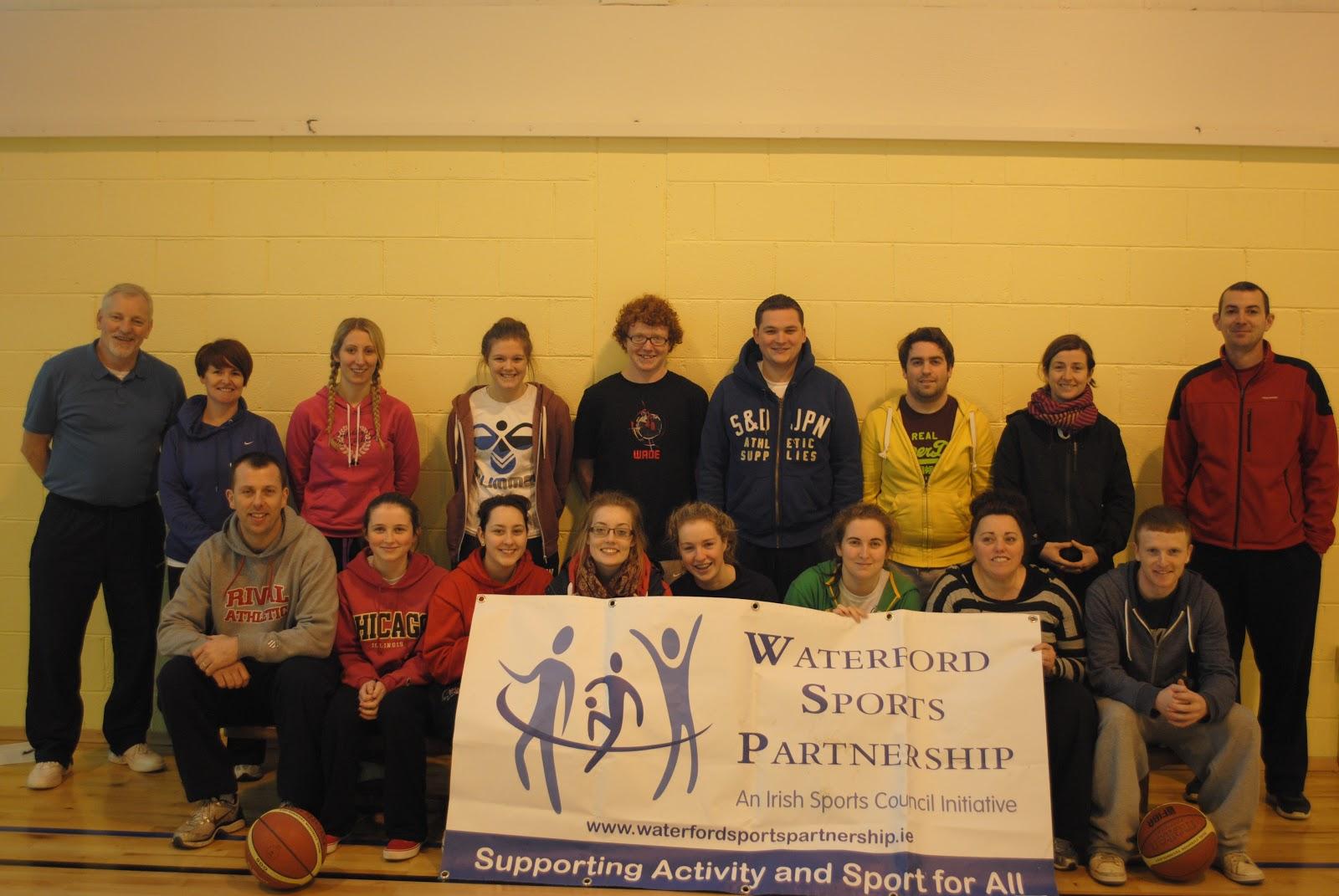 Basketball Coaching Course Waterford Sports Partnership Ireland